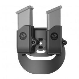 Porta caricatore doppio da 9 mm per G43, G42, 1911 , S&W SHEILD con paddle gen II