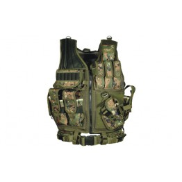 TACTICAL VEST COLORE WOODLAND DIGITAL