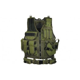 TACTICAL VEST COLORE VERDE