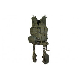 TACTICAL VEST COMPLETO COLORE VERDE