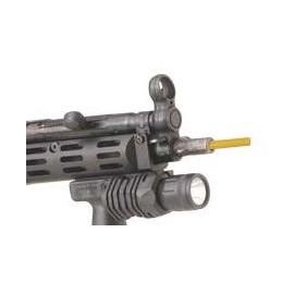 Indicatore arma scarica con blocco della canna
