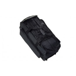 NAVY COMMANDO FIELD BAG CON ROTELLE NERO