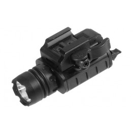 TACTICAL LED LIGHT 150 LUMENS PER PISTOLA