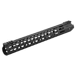 "AR15 - Guardamano da 15"" Ultra Slim Free Float M-Lok"