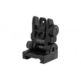 AR15 – Tacca di mira posteriore Flip Up - Picatinny