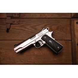 Cabot Gun S100 Government 1911 Style .45 ACP mancina G10 Fibonacci mirino al trizio e tacca regolabile Novak