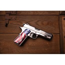 Cabot Gun American Joe Commander 1911 Style .45 ACP Mirino al Trizio