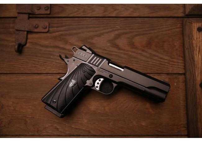 Cabot Gun S100 Government 1911 Style .45 ACP G10 Fibonacci pvd Black