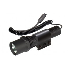 TACTICAL XENON FLASHLIGHT CON ANELLO WEAVER 95 LUMENS