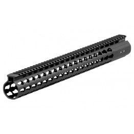 "AR15 - Guardamano da 17"" Free Float Super Slim Keymod"
