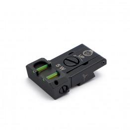 Tacca di mira regolabile con fibra ottica per CZ 75 TS